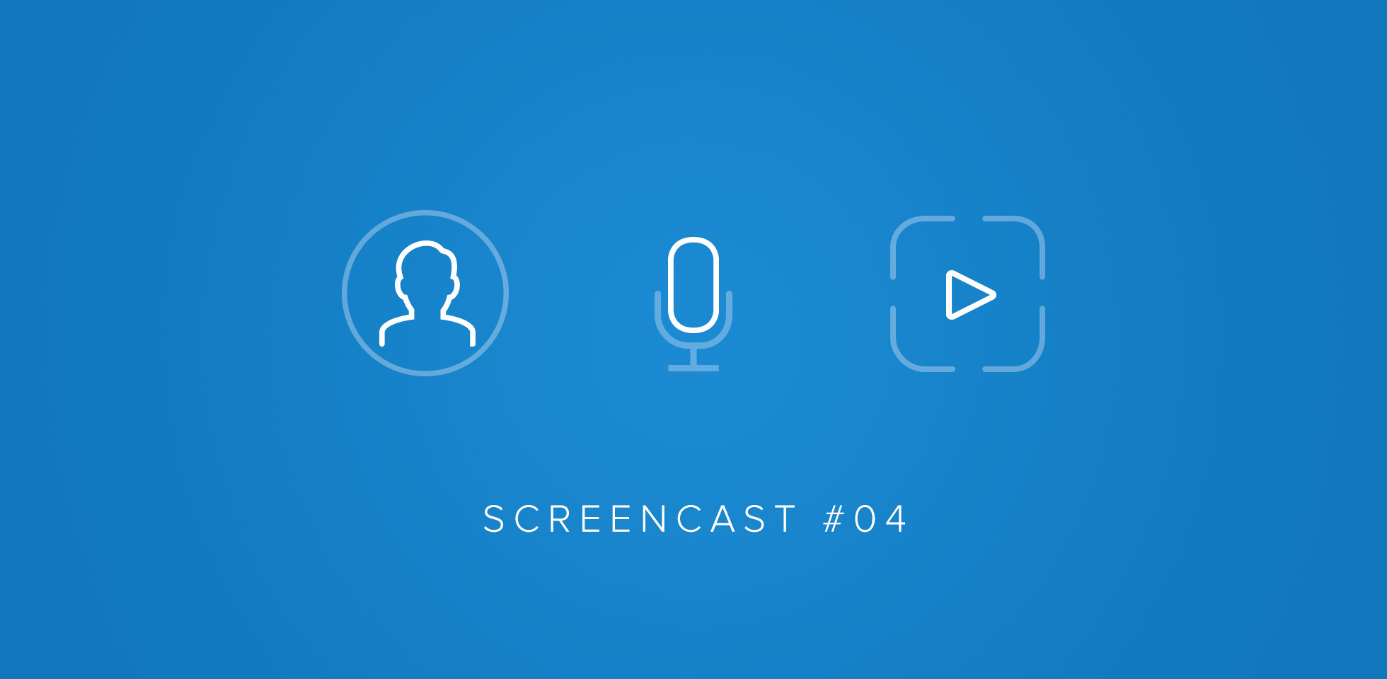 Screencast #04 - View rendering and module config